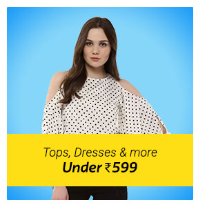 Latest Tops, Dress, Kurti under Rs. 599 only.