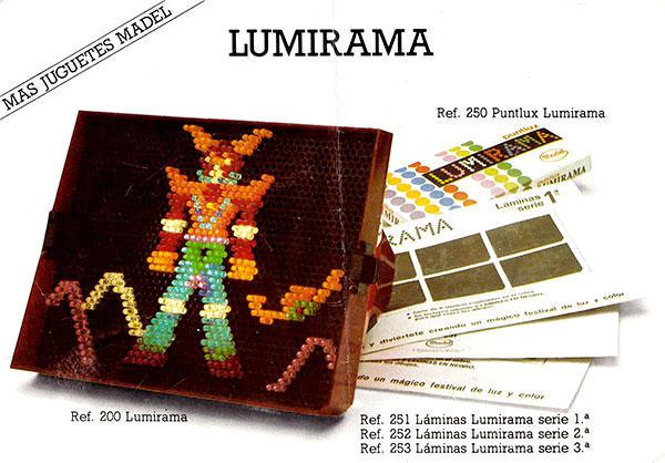 Lumirama Madel folleto 1