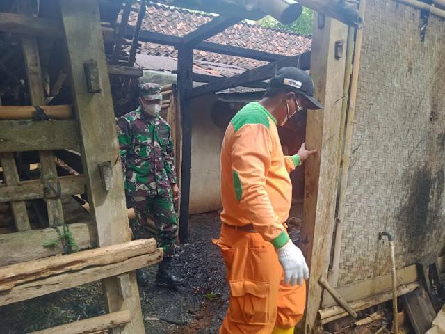 Akibat Lalai Mematikan Tungku, Dapur Ludes Terbakar