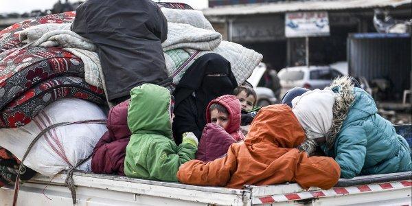 Διαψεύδει η Ρωσία ότι εκατοντάδες χιλιάδες πρόσφυγες κινούνται από Ιντλίμπ προς Τουρκία