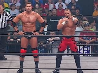 WCW Greed 2001 - Lance Storm and Mike Awesome faced Hugh Morrus and Konnan