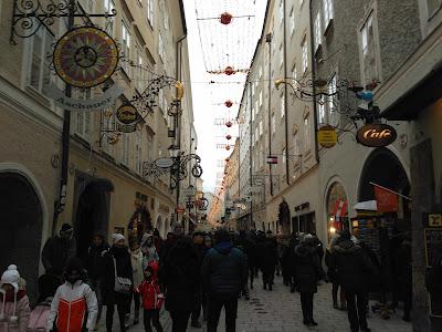calle salzburgo Getreidegaße