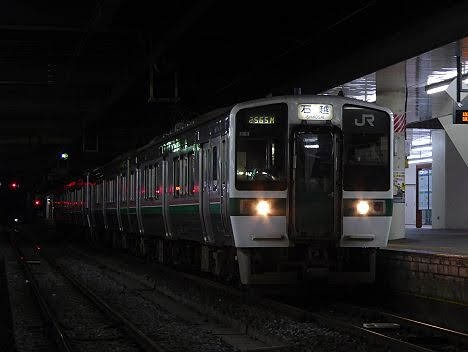 【ダイヤ改正で消滅!】719系の東北本線 石越行き
