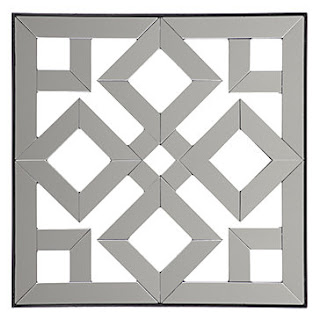 A Girl With Taste Look For Less Geometric Mirror Plaques