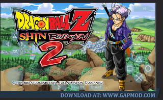 Dragon Ball Z Shin Budokai 2 PPSSPP