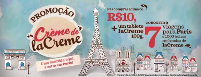 """Promoção """"Crème de laCreme"""" Blog Top da Promoção #topdapromocao @topdapromocao www.topdapromocao.com.br  topdapromocao.blogspot.com facebook instagram pinterest youtube"""