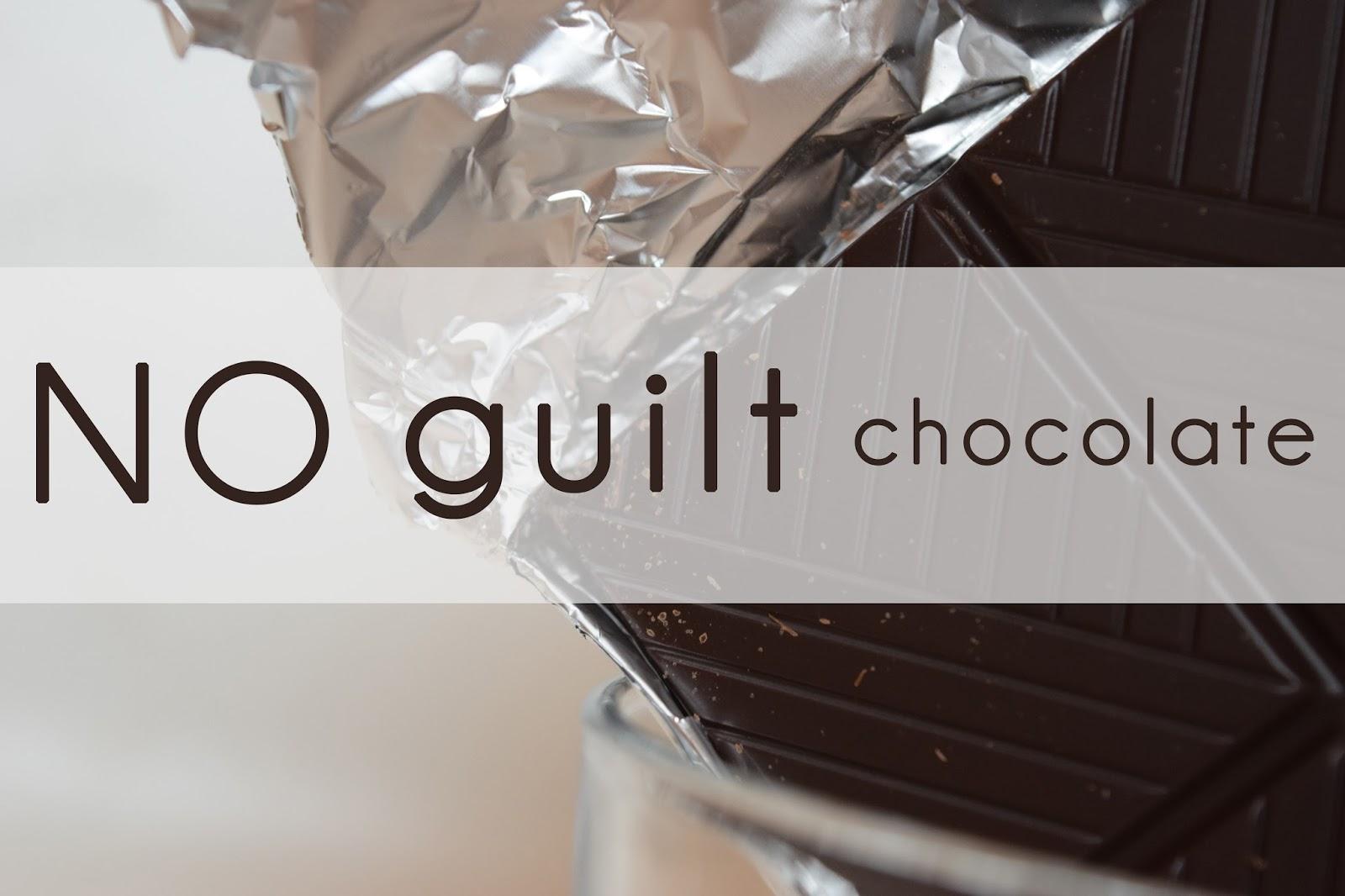 NO guilt chocolate