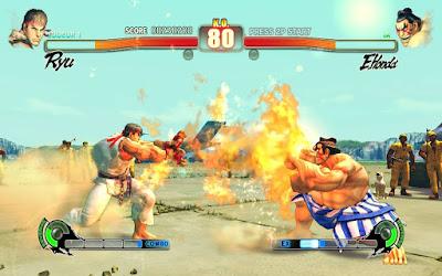 لعبة قتال الشوارع 4 Street Fighter من ميديا فاير
