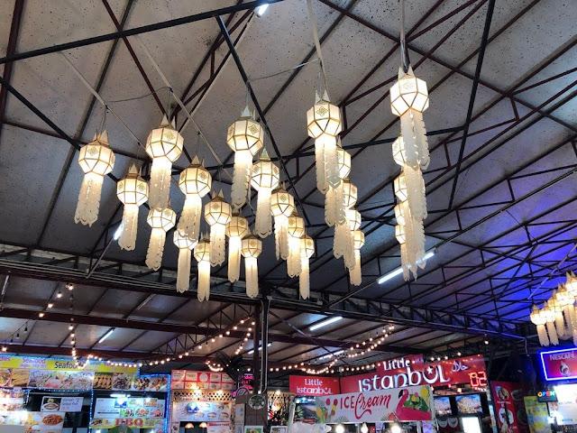 Mercados Nocturnos (Nigth Bazar) de Chiang Mai - Tailândia