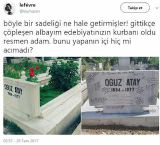 Oğuz Atay'ın mezarı