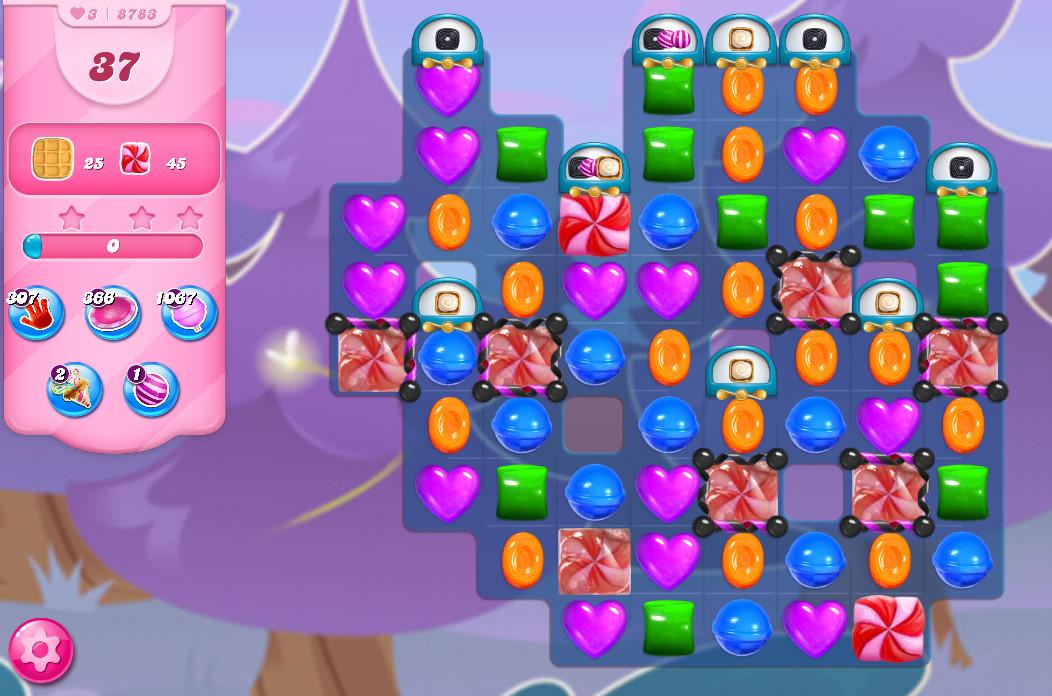 Candy Crush Saga level 8783