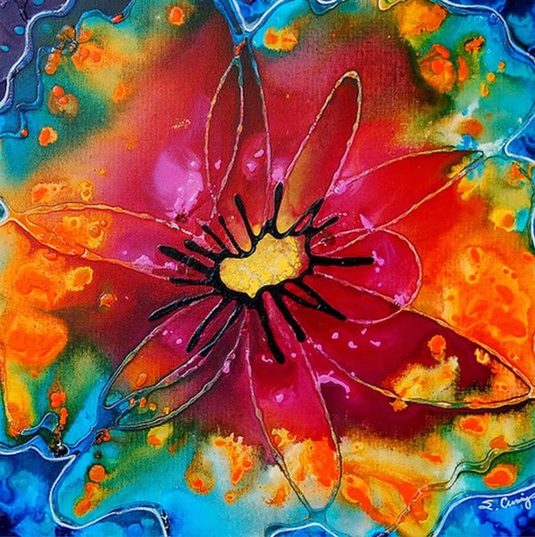 Cuadros modernos pinturas y dibujos cuadros f ciles de - Pinturas acrilicas modernas ...