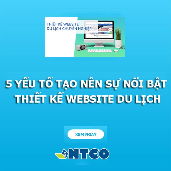thiet ke website du lich