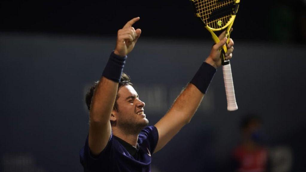 Nicolás Mejía, a un paso del cuadro principal del ATP 250 Los Cabos
