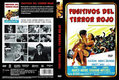 Carátula dvd:Fugitivos del terror rojo