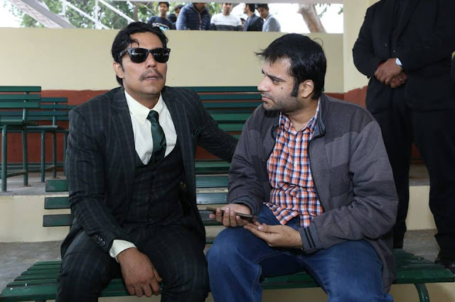 Interviewing actor Randeep Hooda