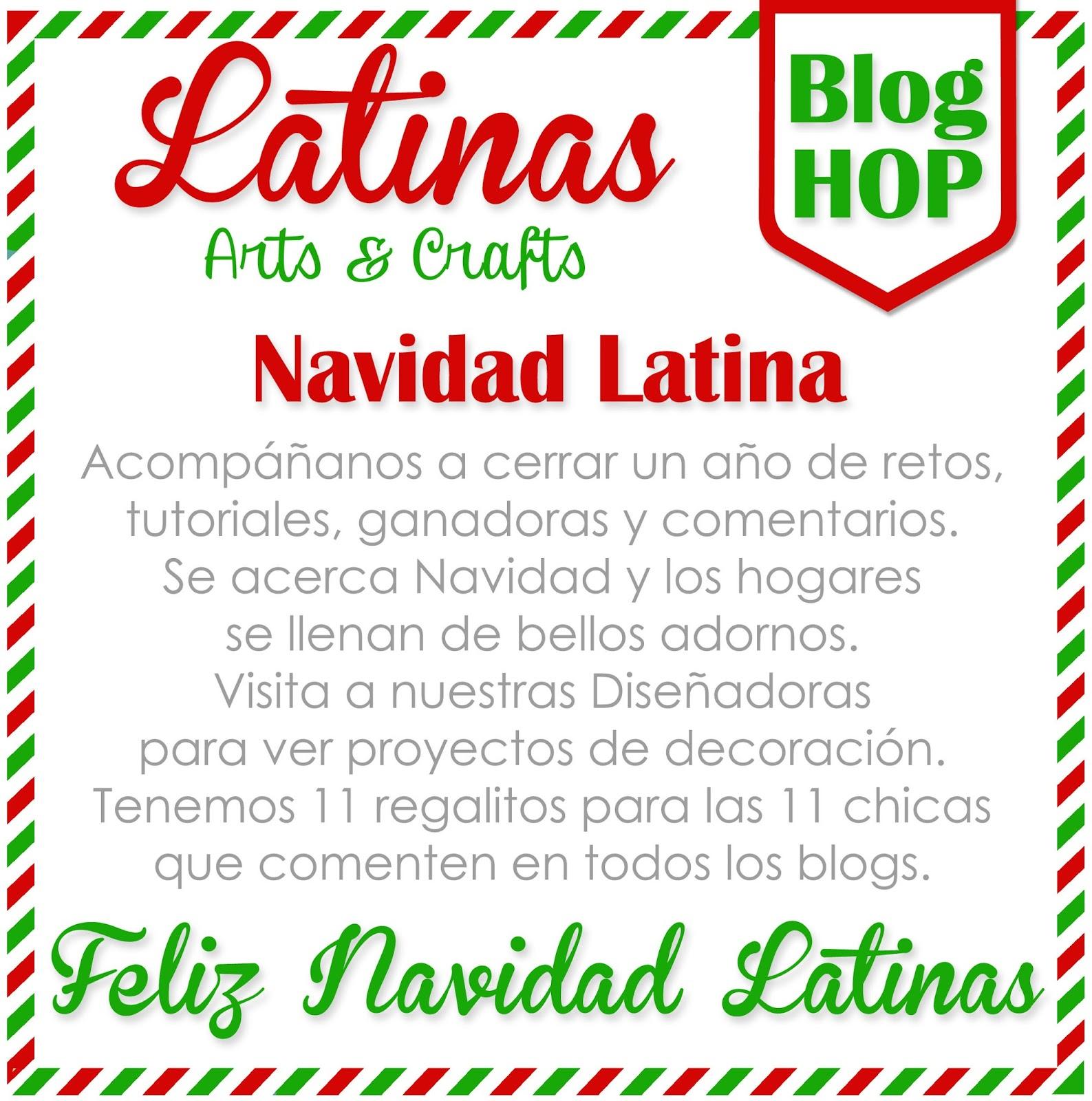 Feliz Navidad Siempre Asi.Scrapandome Con Los Recuerdos Blog Hop Navidad Latina
