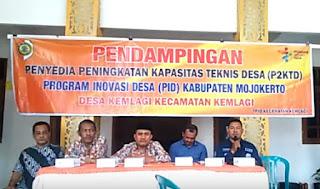 TA P3MD Kabupaten Mojokerto, Bpk Bustomi saat berikan pengarahan