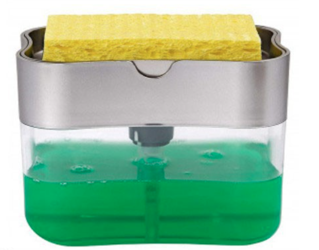 Dishwashing soap dispenser