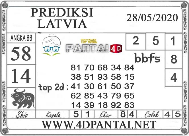 PREDIKSI TOGEL LATVIA PANTAI4D 28 MEI 2020