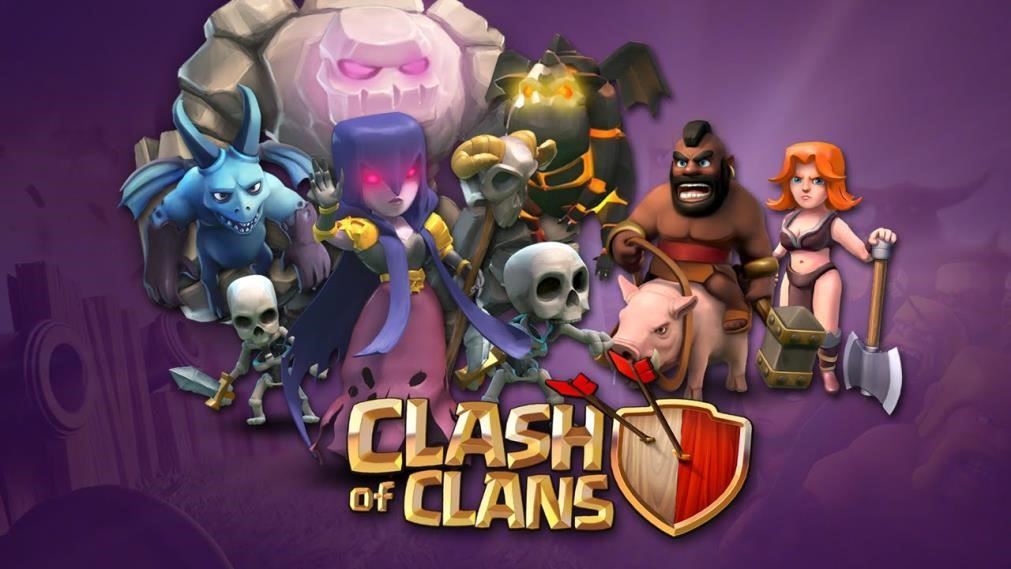 clash of clans character wallpaper hd
