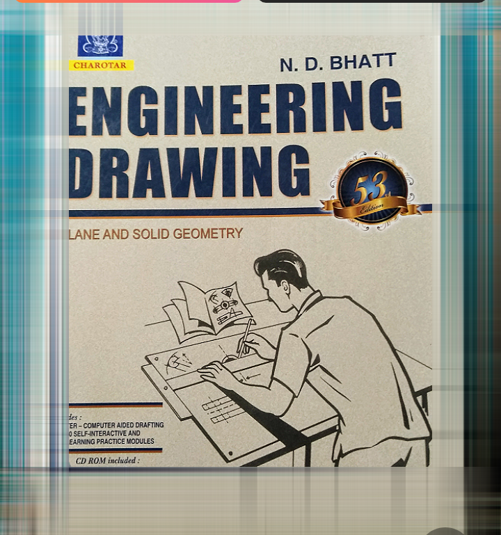 Download Engineering Drawing book by ND Bhatt [PDF]