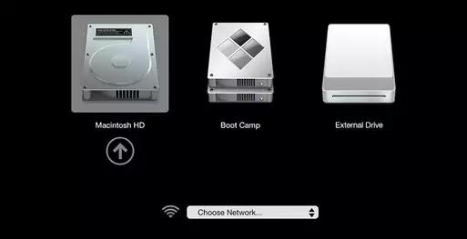 إعادة تشغيل جهاز Mac
