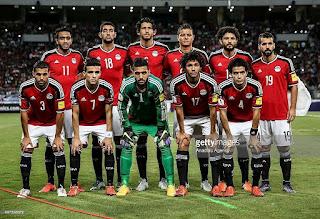 صور منتخب مصر 2017