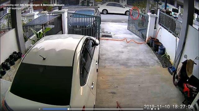 VIDEO VIRAL Bocah 2 Tahun Bermain Sepeda Tampa Diawasi Orang Tua Tergilas Mobil
