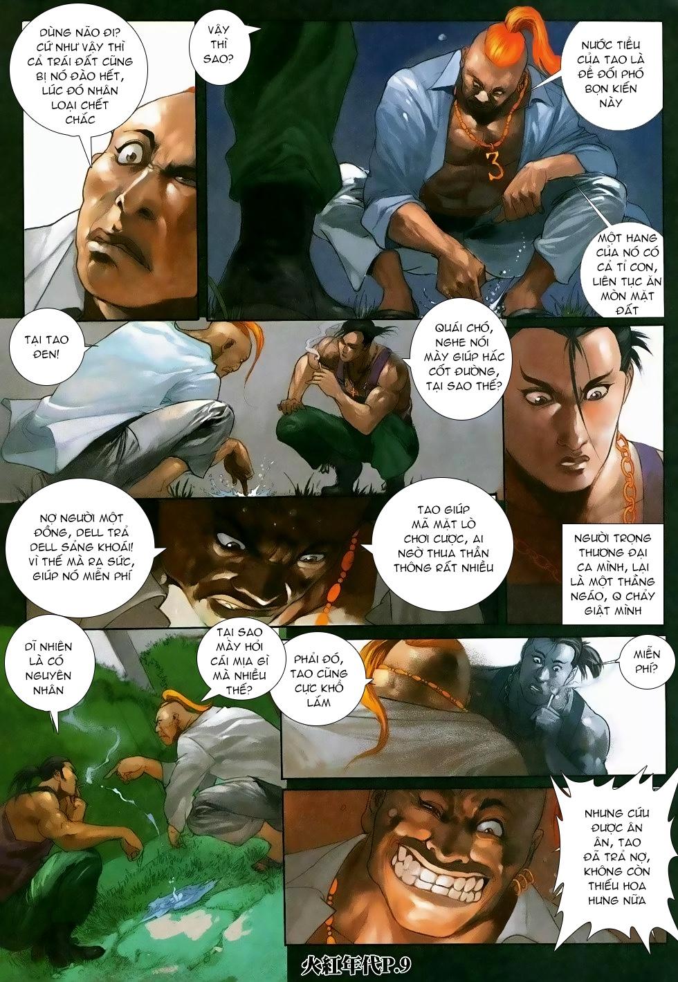 Hỏa Hồng Niên Đại Hắc Cốt Đường Chap 118 - Trang 7