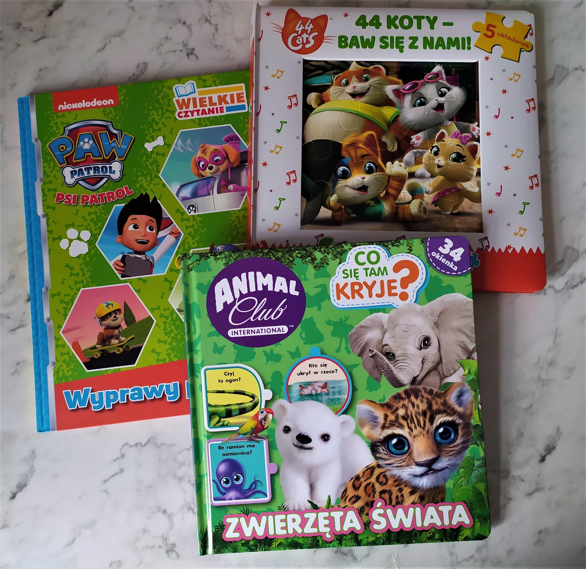 3 Książkowe propozycje dla przedszkolaków