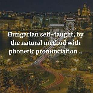 Hungarian self-taught