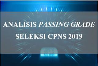 Analisis passing grade CPNS 2019