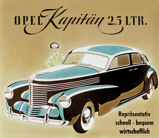 Opel Kapitan.