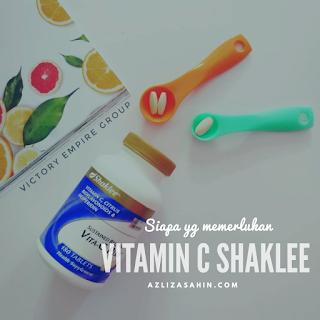 Vitamin C Shaklee - Shaklee damansara