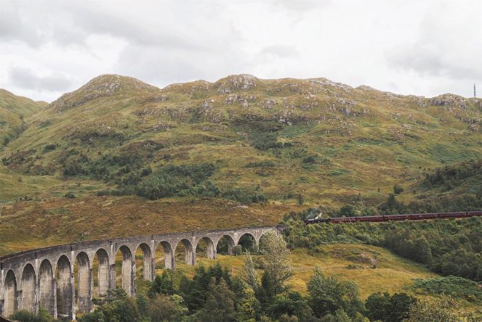Viaduc de Glenfinnan en Ecosse