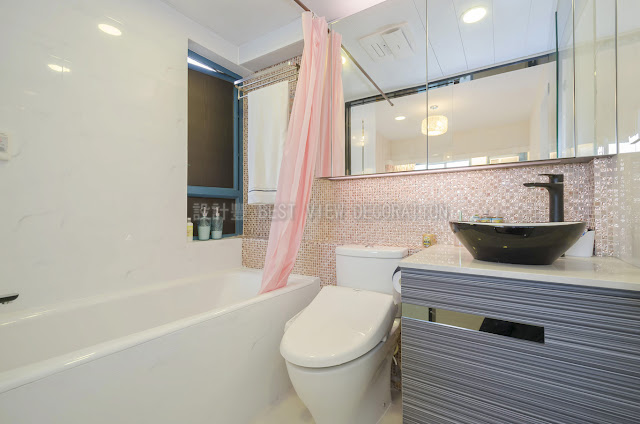 浪澄灣浴室室內設計,The Long Beach bathroom interior design