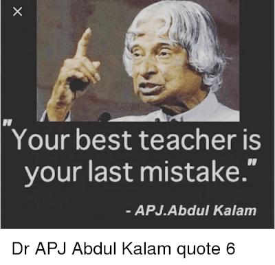 Abdul Kalam Best Quotes