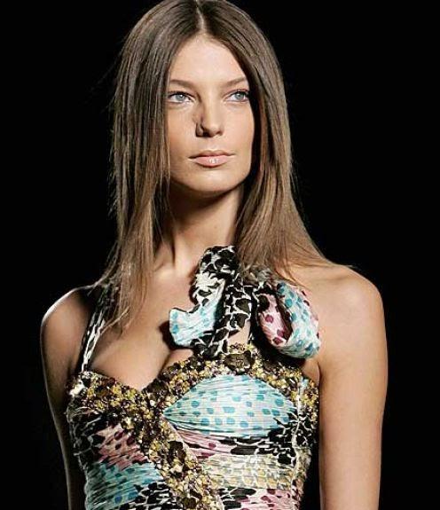 Daria Werbowy Lancome: Kristine Blogs New: Daria Werbowy