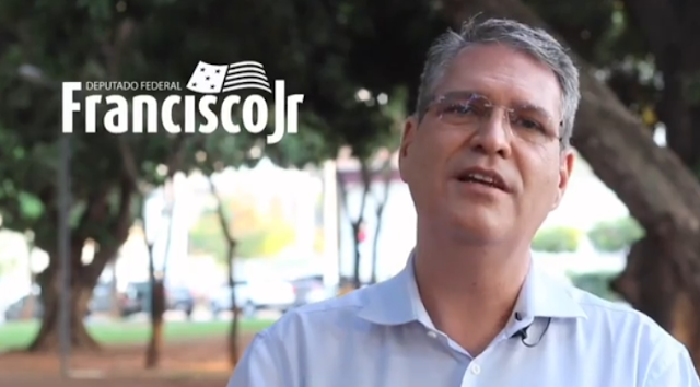 """Deputado federal Francisco Júnior  diz ; """"Goiânia chega aos seus 88 anos merecendo muito mais"""","""