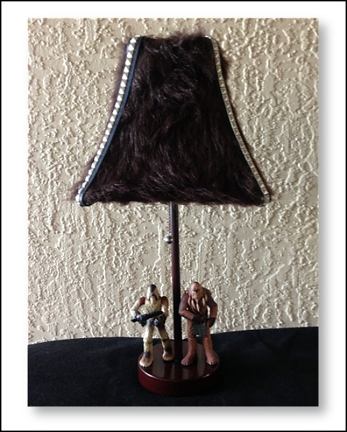 Star Wars Lamp Wookie star wars bedroom decor