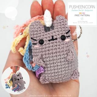 free Pusheen crochet pattern