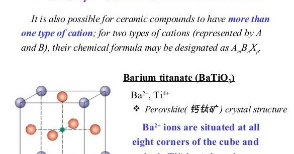 Education Blog Ambnxp Type Crystal Structure Barium
