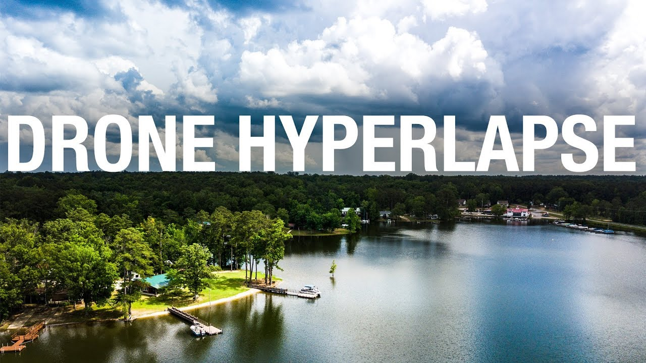 How to do a DRONE HYPERLAPSE - The EASY WAY