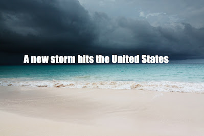 "A new storm hits the United States and causes catastrophic floods, ""Hurricane Sally"""
