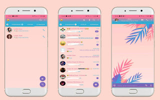 Colorful Leaves Theme For YOWhatsApp & Fouad WhatsApp By Leidiane