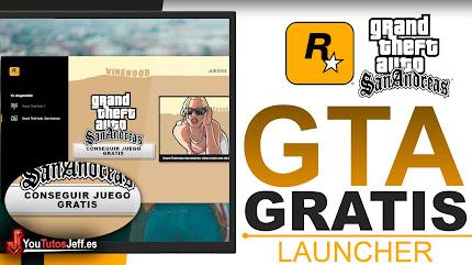 Descarga GTA San Andreas Gratis😲con el Nuevo Rockstar Games Launcher para PC