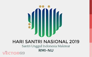 Logo Hari Santri Nasional (HSN) 2019 Santri Unggul Indonesia Makmur RMI-NU - Download Vector File PDF (Portable Document Format)