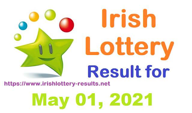Irish Lottery Results for Saturday, May 01, 2021