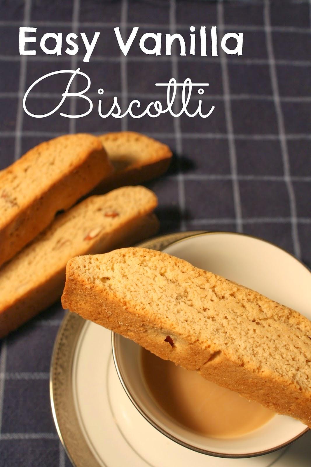 Easy Vanilla Biscotti